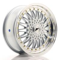 JR Wheels JR9 18x8 ET35 5x100/120 Silver w/Machined Lip