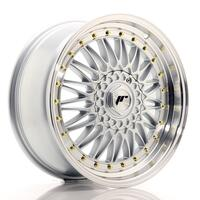 JR Wheels JR9 18x8 ET35-40 BLANK Silver w/Machined Lip