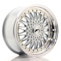 JR Wheels JR9 18x9 ET20-40 BLANK Silver w/Machined Lip