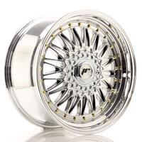 JR Wheels JR9 18x9 ET40 BLANK Chrome