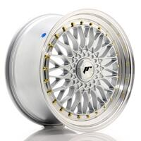 JR Wheels JR9 19x9,5 ET35 BLANK Silver w/Machined Lip